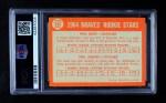 1964 Topps #541   -  Phil Niekro / Phil Roof Braves Rookies Back Thumbnail