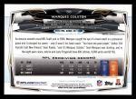 2014 Topps #56  Marques Colston  Back Thumbnail
