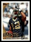 2010 Topps #6  Marques Colston  Front Thumbnail