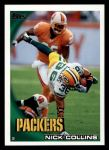 2010 Topps #48  Nick Collins  Front Thumbnail