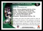 2010 Topps #73   -  DeSean Jackson Eagles Team Back Thumbnail