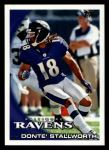 2010 Topps #237  Donte Stallworth  Front Thumbnail