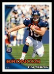 2010 Topps #440  Tim Tebow  Front Thumbnail