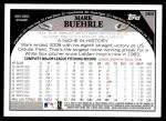 2009 Topps #365  Mark Buehrle  Back Thumbnail