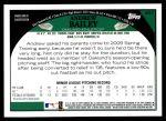 2009 Topps #441  Andrew Bailey  Back Thumbnail