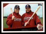 2009 Topps #61   -  Lance Berkman / Carlos Lee Bash-Stros Front Thumbnail