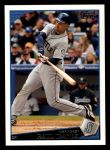 2009 Topps #6  Raul Ibanez  Front Thumbnail