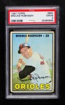 1967 Topps #600  Brooks Robinson  Front Thumbnail