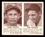 1941 Double Play #73  / 74 Buddy Meyer / Ben Chapman  Front Thumbnail