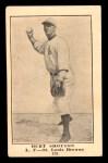 1917 E135 Collins-McCarthy #161  Burt Shotton  Front Thumbnail