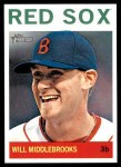 2013 Topps Heritage #60  Will Middlebrooks  Front Thumbnail