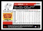 2006 Topps #441  Rich Aurilia  Back Thumbnail