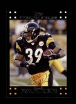 2007 Topps #96  Willie Parker  Front Thumbnail