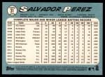 2014 Topps Heritage #31  Salvador Perez  Back Thumbnail