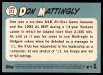 2014 Topps Heritage #217  Don Mattingly  Back Thumbnail