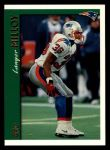 1997 Topps #2  Lawyer Milloy  Front Thumbnail