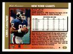 1997 Topps #44  Chris Calloway  Back Thumbnail