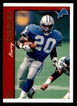 1997 Topps #290  Barry Sanders  Front Thumbnail