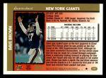 1997 Topps #317  Dave Brown  Back Thumbnail