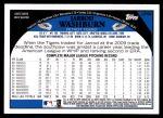 2009 Topps Update #94  Jarrod Washburn  Back Thumbnail