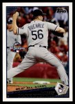 2009 Topps Update #182  Mark Buehrle  Front Thumbnail