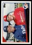 2009 Topps Update #88  Jim Leyland / Tony La Russa  Front Thumbnail