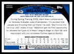 2009 Topps Update #284  Mark Melancon  Back Thumbnail