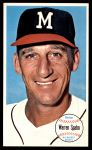 1964 Topps Giants #31  Warren Spahn   Front Thumbnail