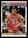 1987 Fleer #9  Charles Barkley  Front Thumbnail