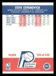 1987 Fleer #103  Steve Stipanovich  Back Thumbnail