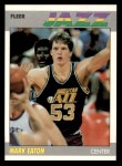 1987 Fleer #32  Mark Eaton  Front Thumbnail