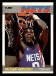 1987 Fleer #129  Orlando Woolridge  Front Thumbnail