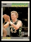 1987 Fleer #100  Jack Sikma  Front Thumbnail