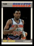1987 Fleer #18  Terry Catledge  Front Thumbnail