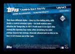 2017 Topps Update #147  Jose Alvarado / Austin Pruitt  Back Thumbnail
