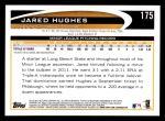 2012 Topps #175  Jared Hughes  Back Thumbnail