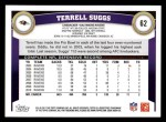 2011 Topps #62  Terrell Suggs  Back Thumbnail