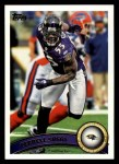 2011 Topps #62  Terrell Suggs  Front Thumbnail