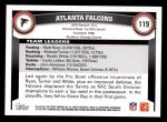 2011 Topps #119   Falcons Team Back Thumbnail