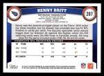 2011 Topps #207  Kenny Britt  Back Thumbnail