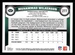2011 Topps #277  Muhammad Wilkerson  Back Thumbnail