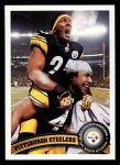 2011 Topps #216   Steelers Team Front Thumbnail