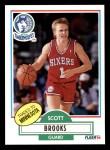 1990 Fleer #140  Scott Brooks  Front Thumbnail
