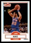 1990 Fleer #35  Larry Nance  Front Thumbnail
