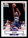 1990 Fleer #46  Michael Adams  Front Thumbnail