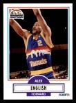 1990 Fleer #48  Alex English  Front Thumbnail
