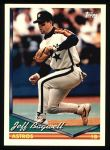 1994 Topps #40  Jeff Bagwell  Front Thumbnail