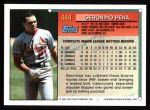 1994 Topps #444  Geronimo Pena  Back Thumbnail