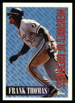 1994 Topps #601   -  Frank Thomas Measures of Greatness Front Thumbnail