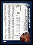 2002 Topps #59  Quentin Richardson  Back Thumbnail